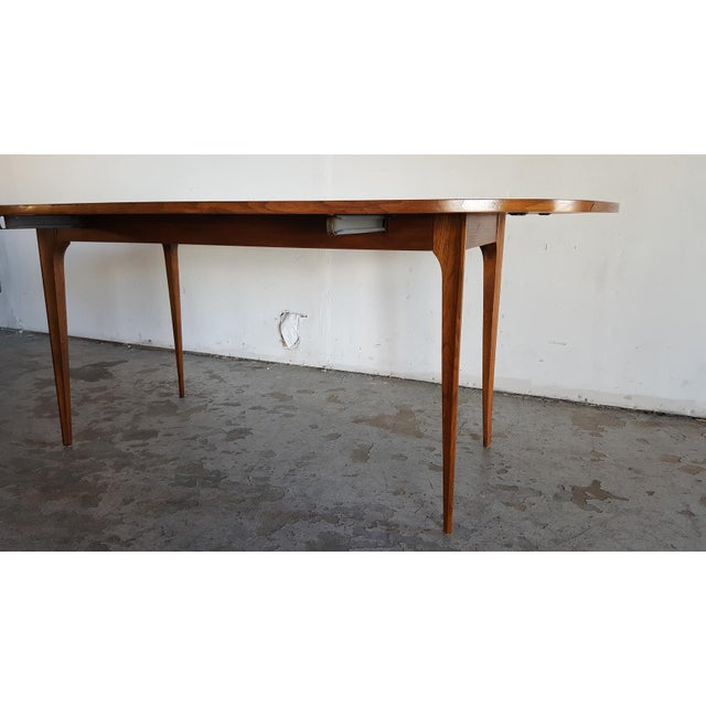 Broyhill Brasilia Walnut Drop Leaf Dining Table - Image 11 of 11