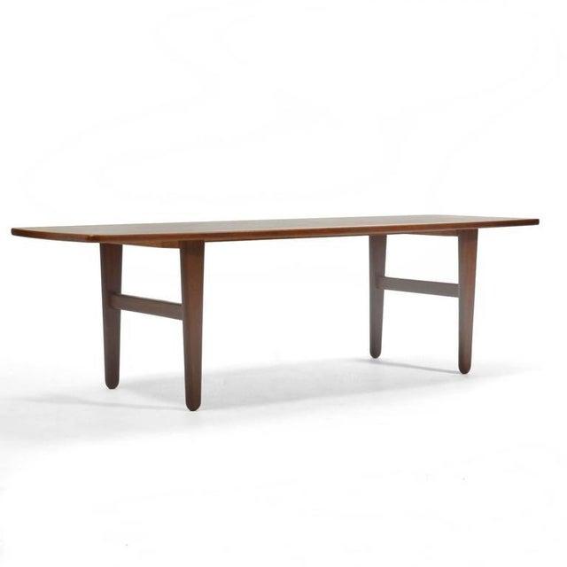 Teak Svend Madsen Coffee Table by K. Knudsen For Sale - Image 7 of 9