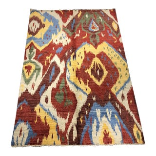 "Bellwether Rugs ""Jamin"" Ikat Rug 5'6""x8'1"" For Sale"