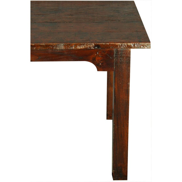 French Country Plank-Top Dining Table - Image 3 of 8