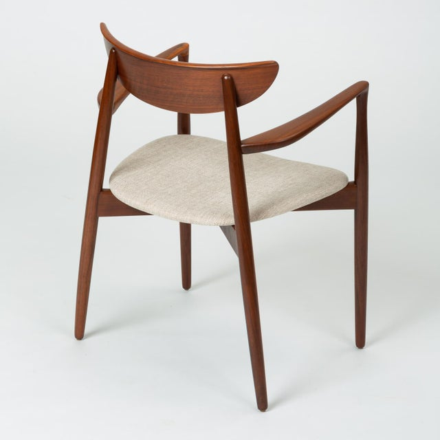 1960s Set of Four Dining Chairs by Harry Østergaard for Randers Møbelfabrik For Sale - Image 5 of 13