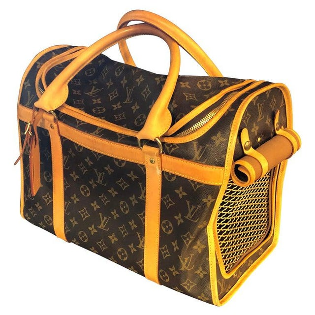 Louis Vuitton 40 Monogram Canvas Luggage Bag For Sale - Image 12 of 12