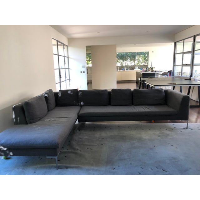 Beautiful, classic, and incredibly comfortable, the B&B Italia Charles Sectional is everyone's favorite modern sofa and...