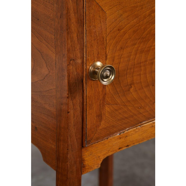 Pair of English George III Walnut Side Tables - Image 6 of 9