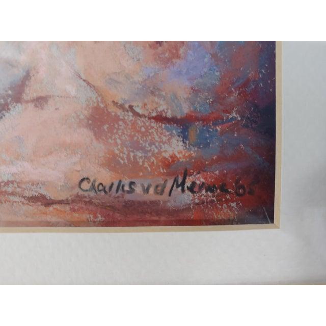 Figurative 1970s Nude Original Painting by Charles Van Der Merwe, South Africa For Sale - Image 3 of 4