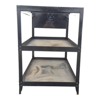 Lyon Steel Shelving Stationary Tool Cart Stand