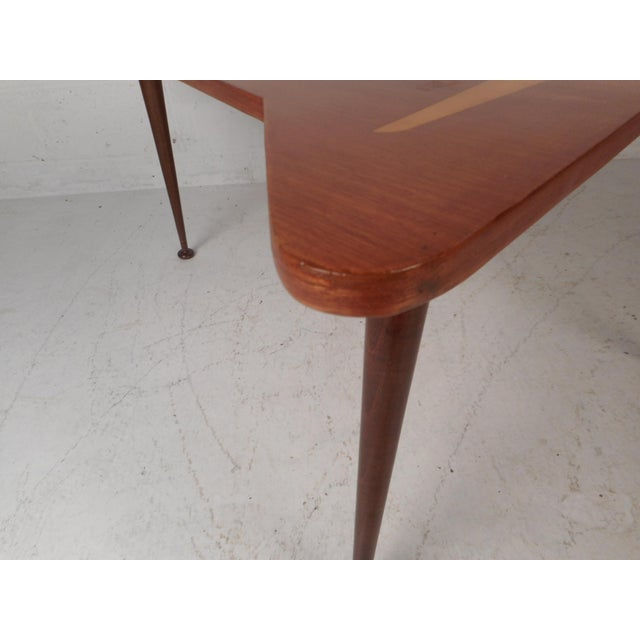 Beautiful Contemporary Modern Boomerang Coffee Table For Sale - Image 9 of 10
