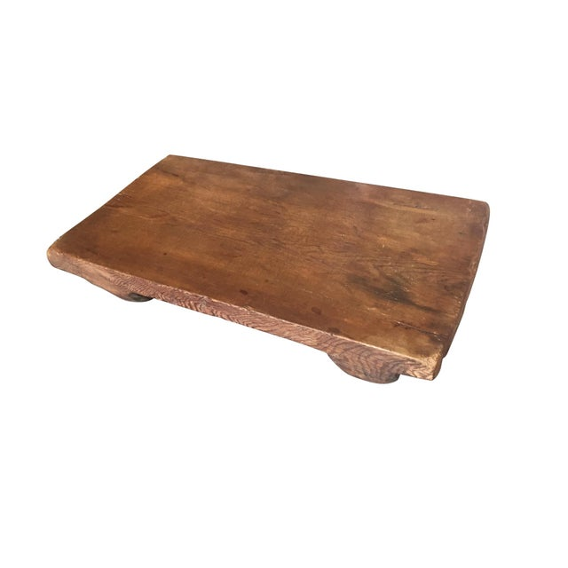 Brown Low Plinth Coffee Table in the Style of Axel Vervoordt For Sale - Image 8 of 8