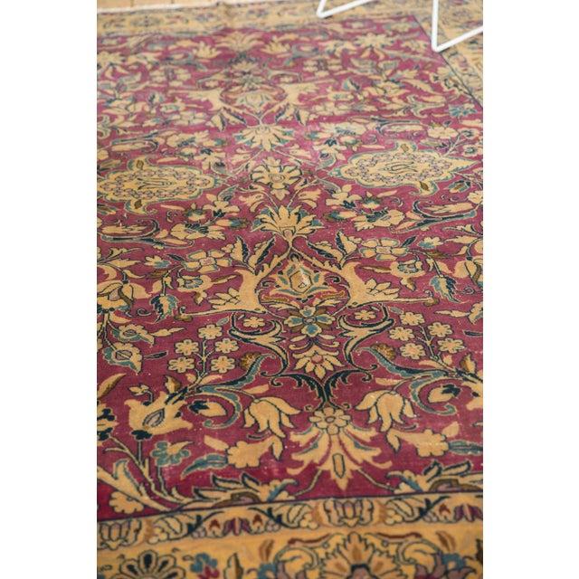 "Old New House Vintage Lilihan Carpet - 6'2"" X 9'6"" For Sale - Image 4 of 12"