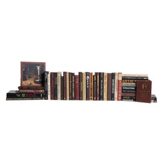 Modern Man Cave Book Set, (S/38) For Sale