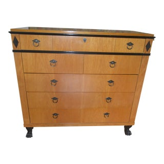 1990s Neoclassical Baker Furniture High Chest