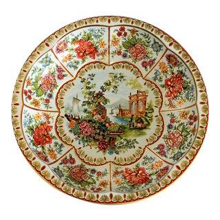 Vintage Daher English Tin Bowl For Sale