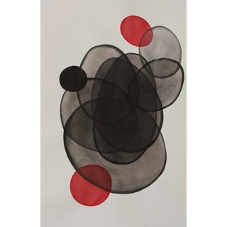 """""""Sphere Specimens"""" Contemporary Abstract Painting by Sabrina Bachelier For Sale"""
