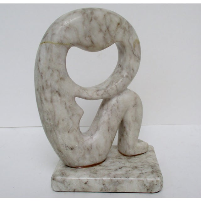 Carved Stone Sculpture For Sale - Image 9 of 9
