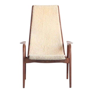 1960s Swedish Lamino Lounge Chair For Sale