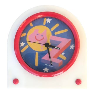 1980s Ken Done Bedside Alarm Clock For Sale