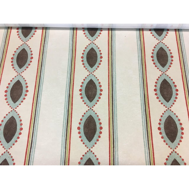 "2010s Nina Campbell's Broadway Collection ""Showboat"" Fabric - 2 Yard Piece For Sale - Image 5 of 5"