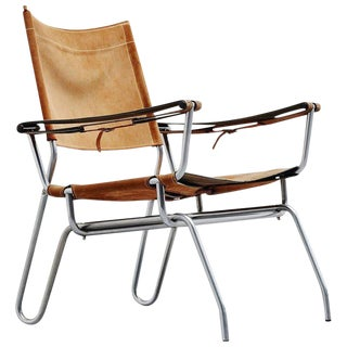 1960s A. Dolleman Easy Chair for Metz & Co, Holland For Sale