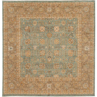 21st Century Contemporary Tabriz Wool Rug For Sale