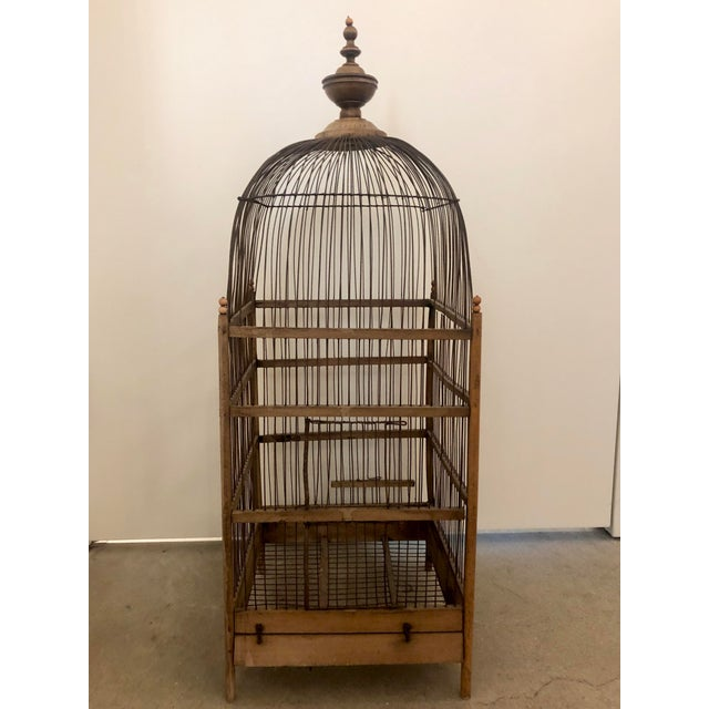 Antique Birdcage For Sale In Boston - Image 6 of 6