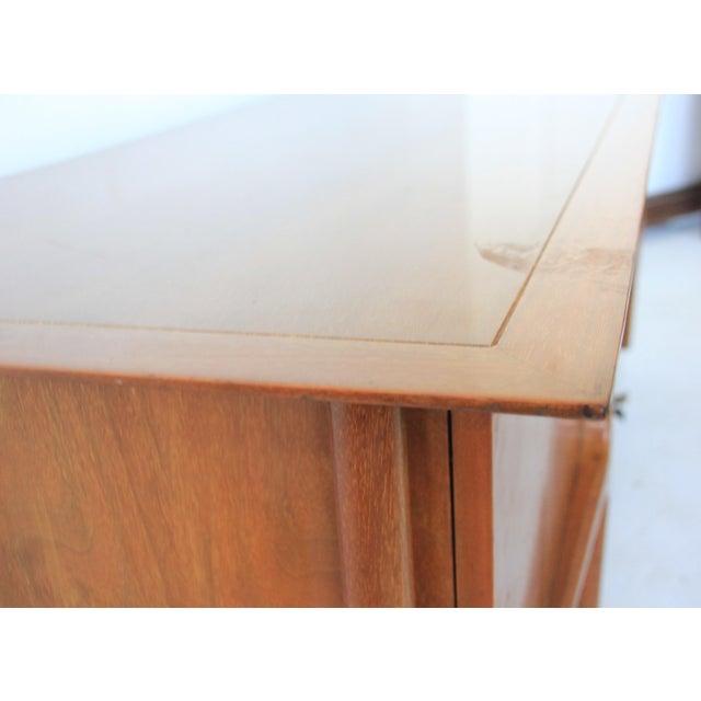 Mid-Century Modern Geometric 9-Drawer Dresser - Image 7 of 10