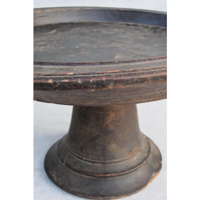 Antique Wooden Compote - Image 5 of 10