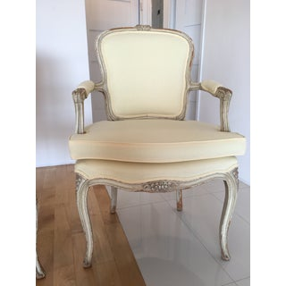 Early 20th Century Vintage Louis XV Fauteuils Chairs - a Pair Preview
