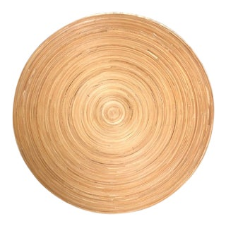 1990s Contemporary Bamboo Dish For Sale