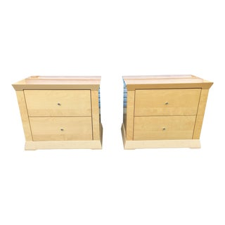 Contemporary Modern Nightstands - A Pair