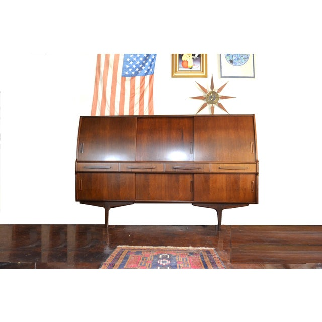 Danish Modern Rosewood Credenza by Poul M Jessen for Pmj Viby For Sale - Image 13 of 13