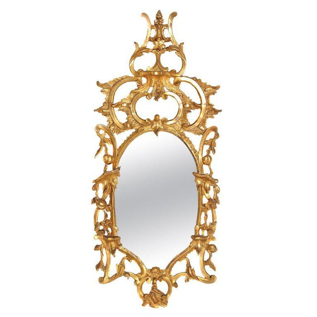 George III Chippendale Style Pier Glass Mirror For Sale - Image 13 of 13