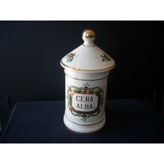 Vintage French Pharmacy Jar Preview