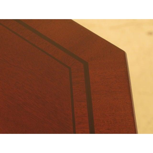 Baker Octagonal Mahogany Center or Breakfast Table - Image 7 of 9