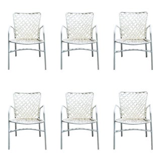 Set of 6 Vintage Ames Aire Patio Chairs