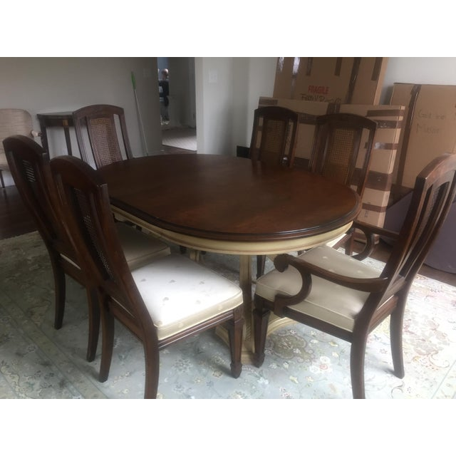 Blonde Mahogany Dining Set - Image 9 of 11