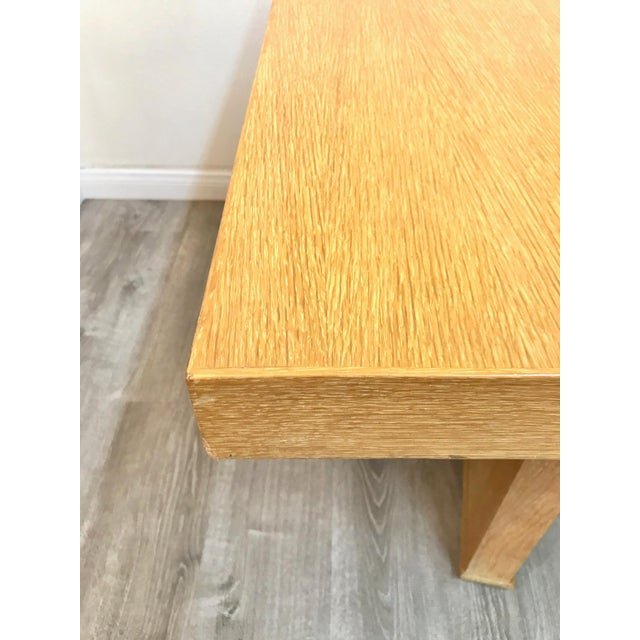 Wood Mid Century Modern Paul Frankl Style Dining Table For Sale - Image 7 of 12