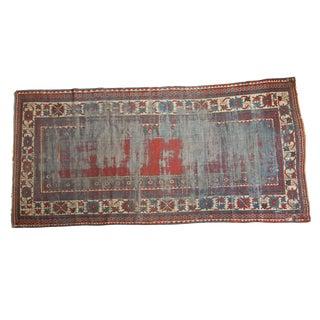 """Antique Kazak Rug Runner - 5'5"""" x 11' For Sale"""