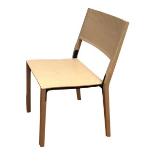 Greutmann Bolzern - Base Stacking Chair With 70s Patented Die-Cast Frame For Sale