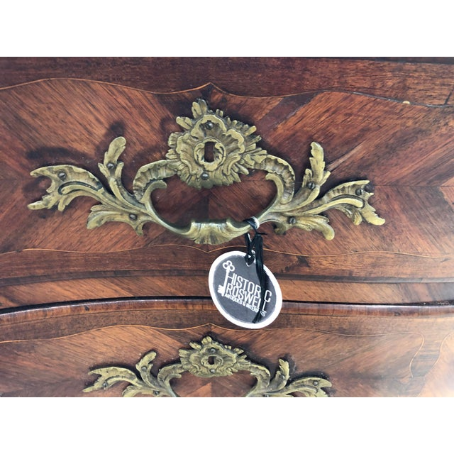 Mid 18th Century 18th Century Period Louis XV French Commode For Sale - Image 5 of 10