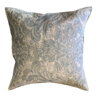 Pottery Barn Francesca Embroidered Pillow Cover For Sale