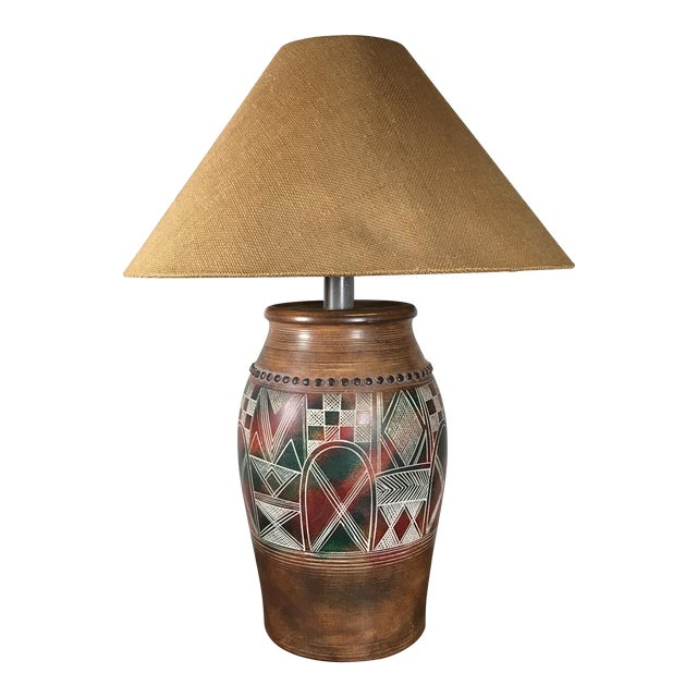 Vintage Casual Lamps of California Table Lamp For Sale