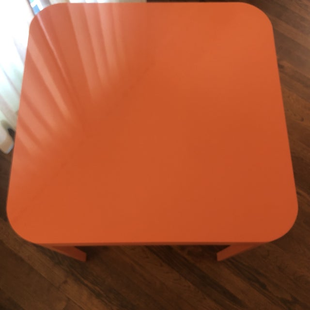 2020s Custom Mid Century Modern Game Table For Sale - Image 5 of 6