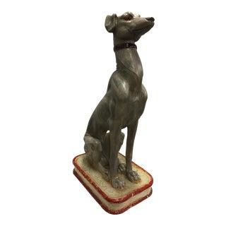 Italian Greyhound Sculpture