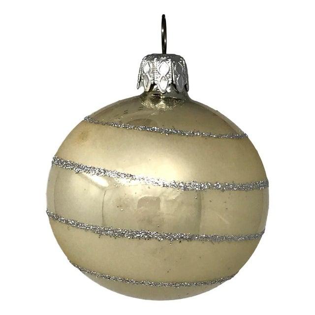 Vintage Italian & Polish Christmas Holiday Glass Ornaments - Collection of 24 For Sale - Image 11 of 12