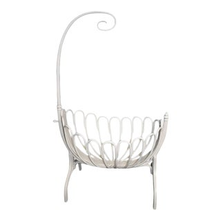 Thonet Antique Bentwood Cradle, Early 1900s For Sale
