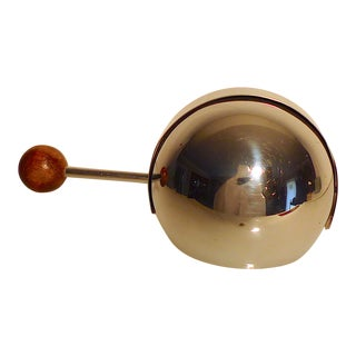 1950s Mid 20th Century Chrome Chafing Dish Warmer For Sale