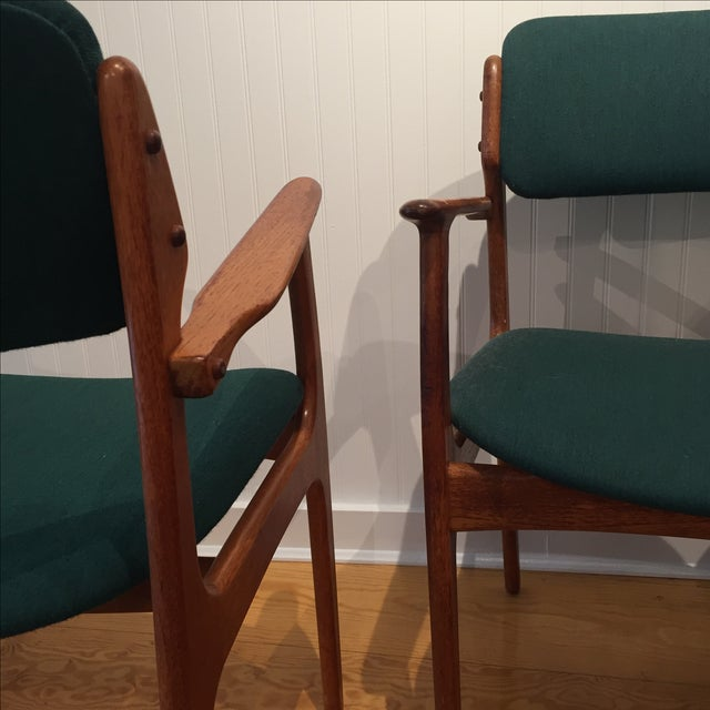 Danish Modern Erik Buch Chairs - Set of Two - Image 5 of 11