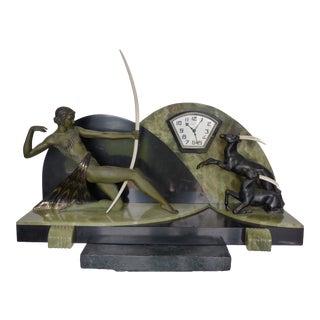 1920s Art Deco Mantle Clock For Sale