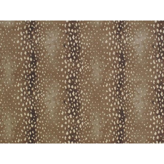 "Stark Studio Rugs Stark Studio Rugs Rug Deerfield - Sand 9""x9"" Sample For Sale - Image 4 of 4"
