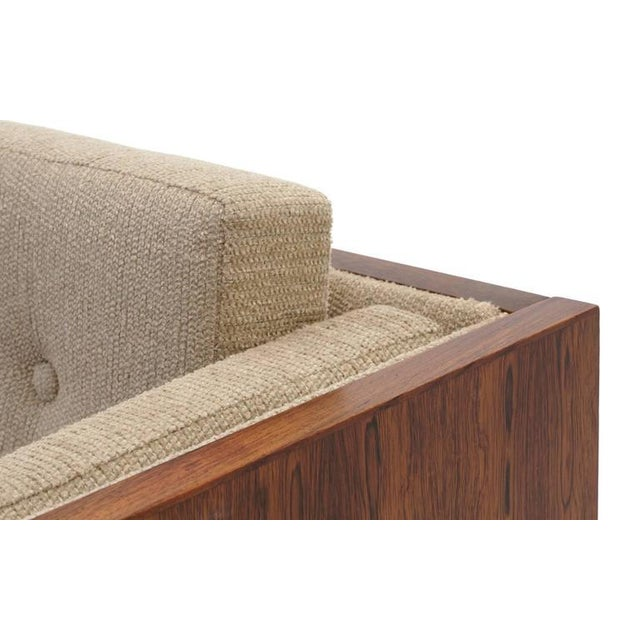 Danish Modern Rosewood Case Lounge Chair by Jydsk Møbelværk For Sale - Image 3 of 5